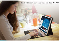 Bluetooth Smart Keyboard case with Auto Sleep and Wake function for iPad Pro 9.7 inch