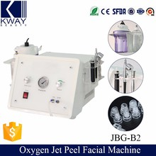 3 in 1 oxygen spray jet peel system wet/dry microdermabrasion machine