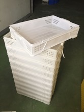 Good quality mesh type food delivery plastic crates with a discount