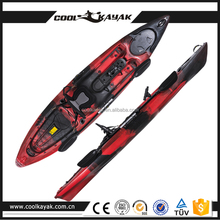 no inflatable boat, popular single fishing kayak sale