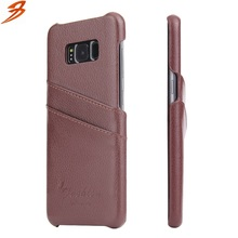 Wholesale Mobile Phone Cases High Quality Genuine Leather Phone Cover For Samsung S8
