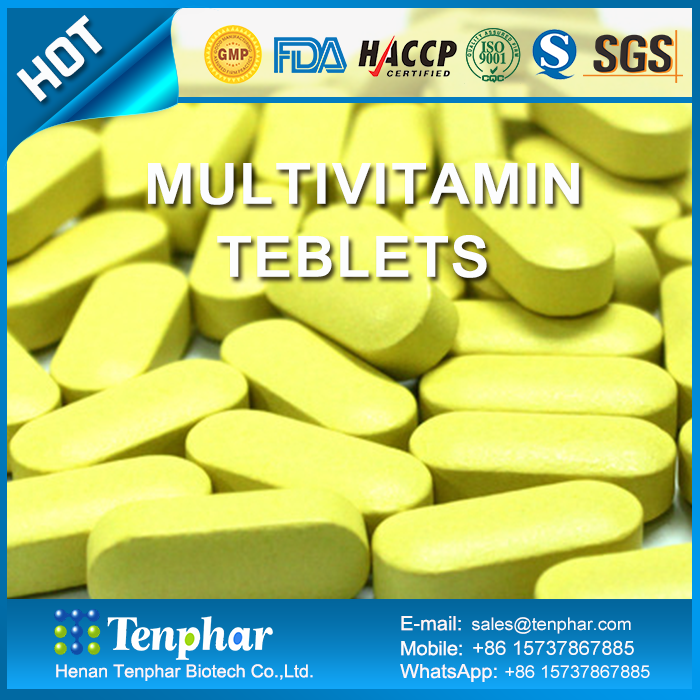 OEM 1000mg Bulk Vitamins And Minerals Tablet