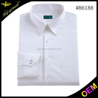 Wholesale white stylish shirt for men