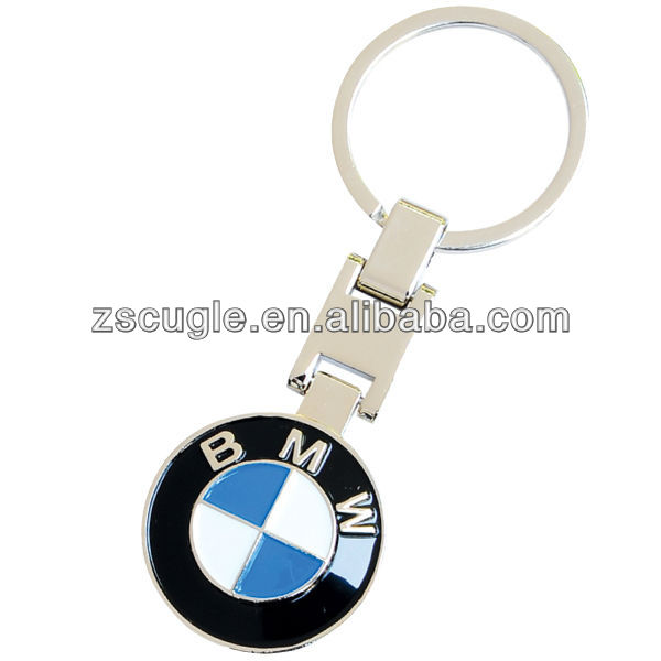 Cheap customize bmw keyring