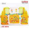 12+2 64cm Height Baby Play Yard