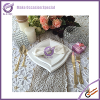 PZ00010 Wholesale ceramic plate cheap bulk white porcelain dinner plates for wedding