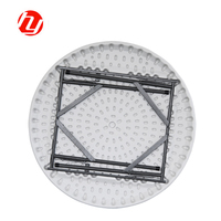 Plastic Outdoor Folding Round Table Garden Table