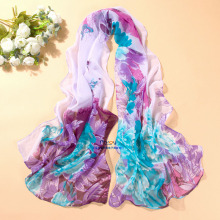 High Quality Cool Printing Sun Protection Chiffon Scarves Stoles
