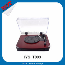 Good Price Vinyl Multiple Play Record USB Turntable Player For Sale