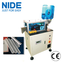 Motor stator slot insulation paper wedge forming and cutting machine for armature rotor