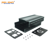 aluminum sheet metal project box wide pedal enclosure inverter case