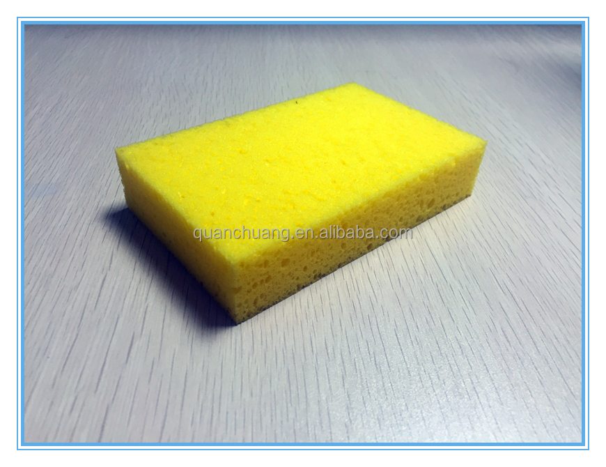 2016 hot selling high quality major Kitchen scouring pad cleaning sponge