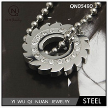 Stainless steel men's non mainstream Korean Necklace