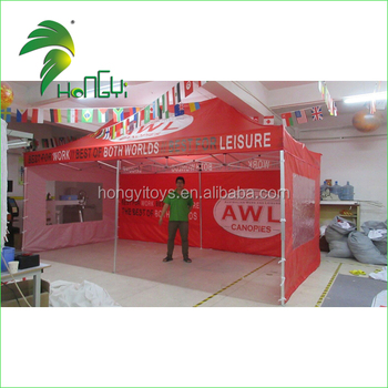 2016 Aluminum Folding Inflatable Golf Tent / Professional Trade Show Folding Tent