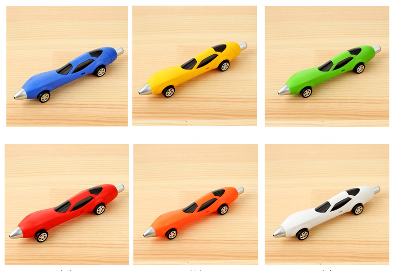 promotional gifts car shape plastic ball pen