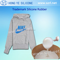 Skin safe silicone rubber for Coating Textiles