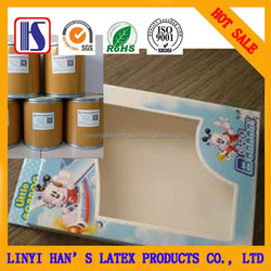 Han's Hot selling super glue Water-based high quality White latex glue for color box