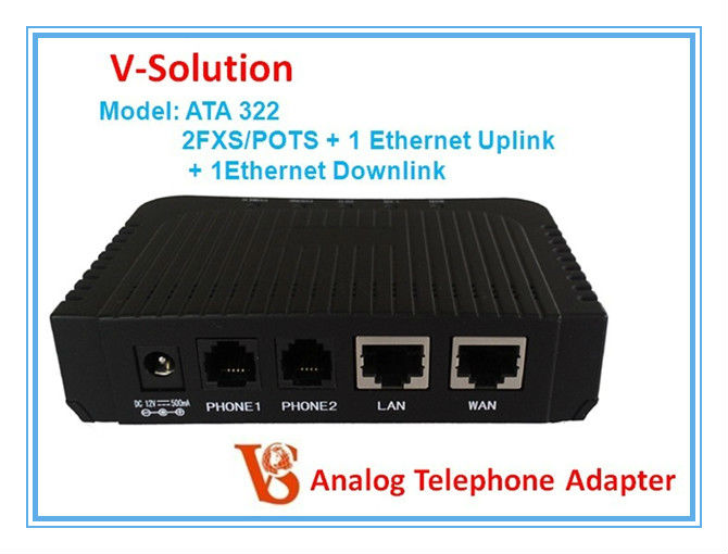 ata sip voip gateway ip phone telephone adapter