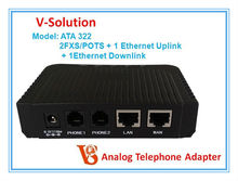 atas sip voip gateway ip phone telephone adapter