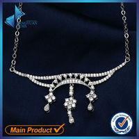 china wholesale sterling silver wedding necklace designs