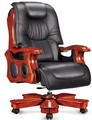 leather chair,luxury office furniture,wood chair MA6005-1