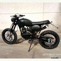 2018 hot sale 125cc tracker motorcycle with Euro 4