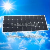 120W high quality rooftop chinese 1000 watt flexible solar panel for sale SN-H120W