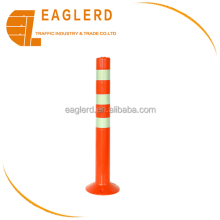 750mm 780mm road safety reflective flexible delineator PE warning post