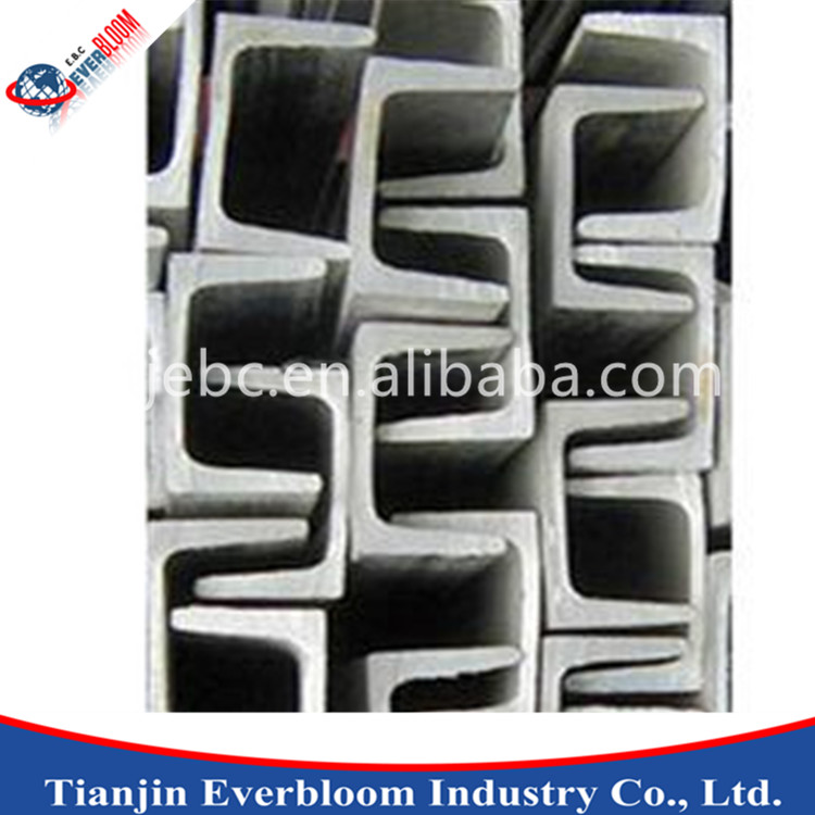 low cost strut u steel channel / steel channel / channel iron sizes