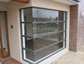Modern construction pvc corner window for house design