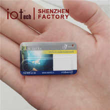 Super Mini Slim Credit Business Card 1GB 2GB USB Flash Drive