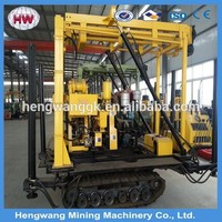 Mini Drilling Rig on Crawler base with Capacity 100m
