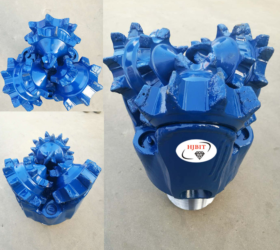 tricone milled tooth bit for water well mud drilling