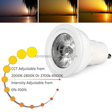 led belysning 2014 new gu10 cob led spotlight 5w 8w with reflector cup