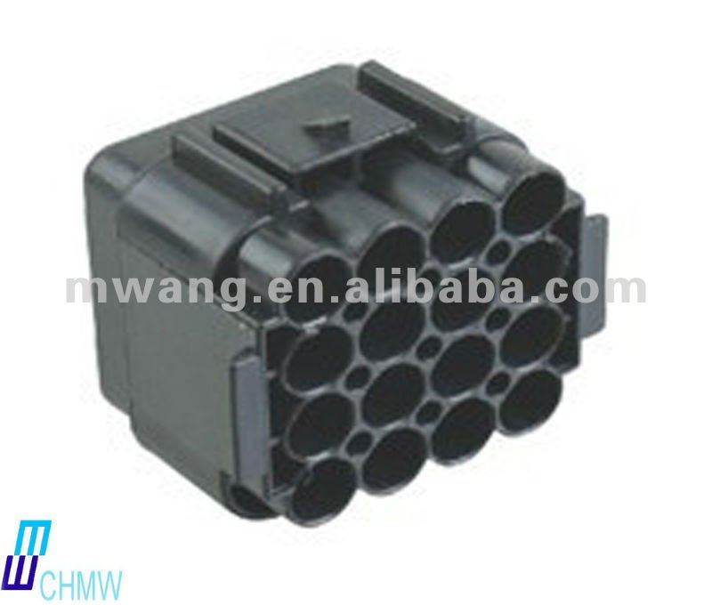16 pin auto connector housing DJ7161-2