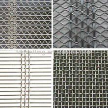 shaped wire screens /self cleaning mesh screen