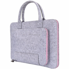 High quality manufacturers hot selling felt computer laptop bag for notebook