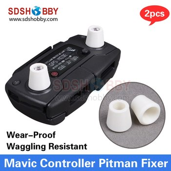 3D Printed Mavic Pro Remote Controller Rocker Protector Pitman Fixer Wear-Proof Waggling Resistant Joystick for SPARK & Mavic
