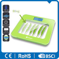 bathroom scale with aaa battery sencor scale 150kg decoration filling