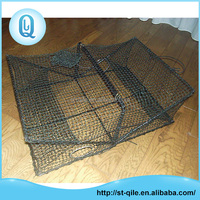 Wholesale cheap professional crab trap net high strength steel fish cage