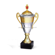 Gold plated sports cup metal gold trophy