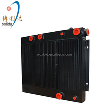 High efficient brazed compressor oil air cooler/plate-bar radiator