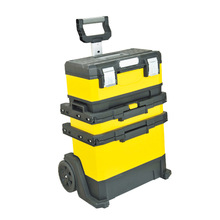 Trolley and wheels Mobile three layers Tool Roll Box