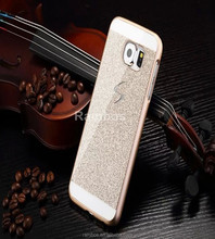 Sparkle Skin Mobile Phone Bling Hard Plastic Protector Back Cover Shell Case for Samsung Galaxy S3 S4 S5 S6 S6 Edge