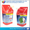 gravure printed ldpe liquid detergent packaging bags with spout