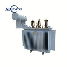11/0.4KV 3 phase S9 oil immersed 630 kva electrical distribution transformer