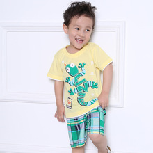 new design 100%cotton baby boy clothes