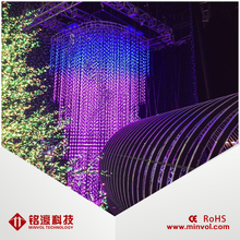 High Quality Curtain 3D Led Display Creative Magic Display LED 3D Display