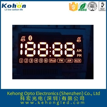 4 digits 0.7 inch 7segment led display for sound box