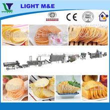 Hot Automatic Extruded Fried Potato Chips Snack Making Machine